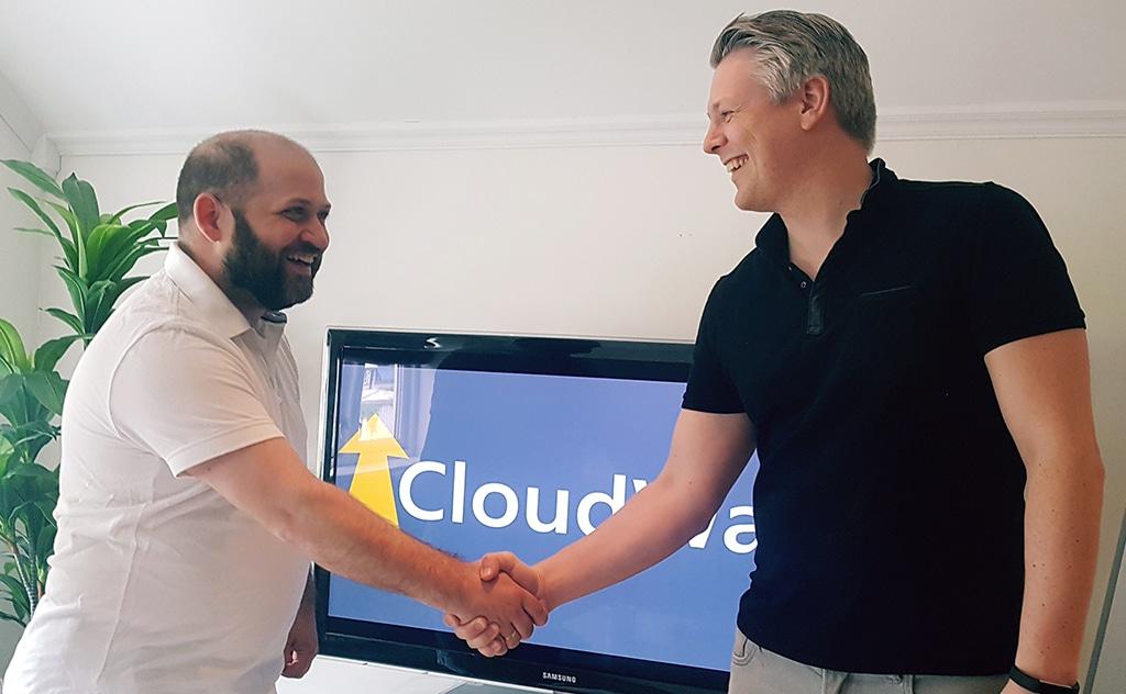 founder Ståle Hansen welcomes Jan Ketil