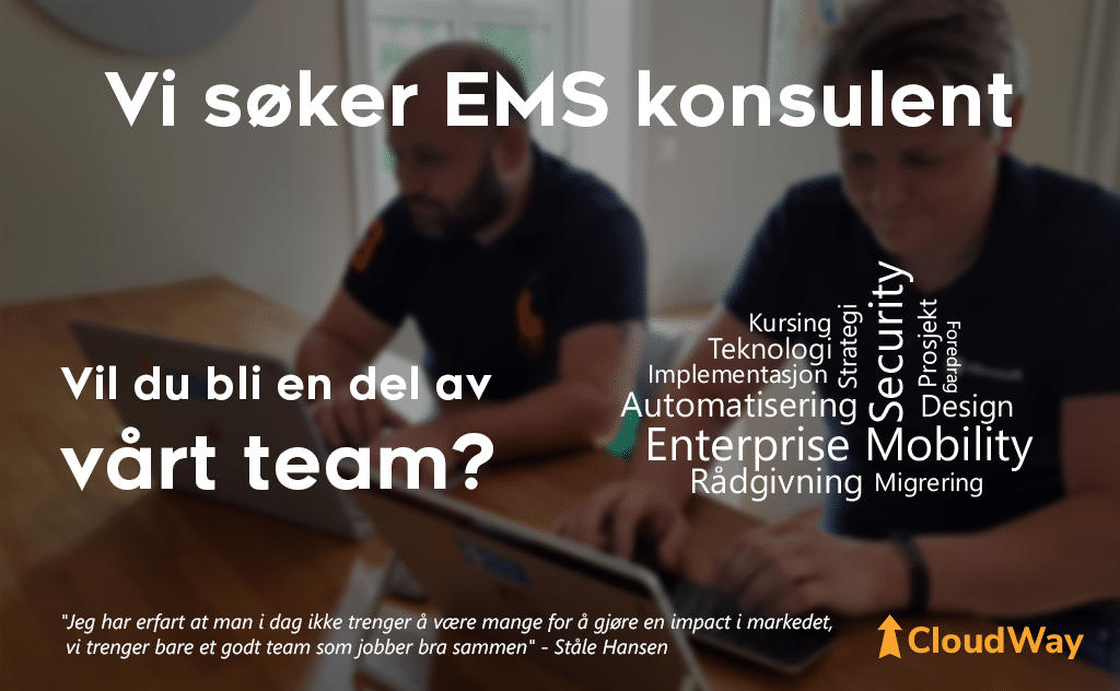 Looking for an EMS consultant