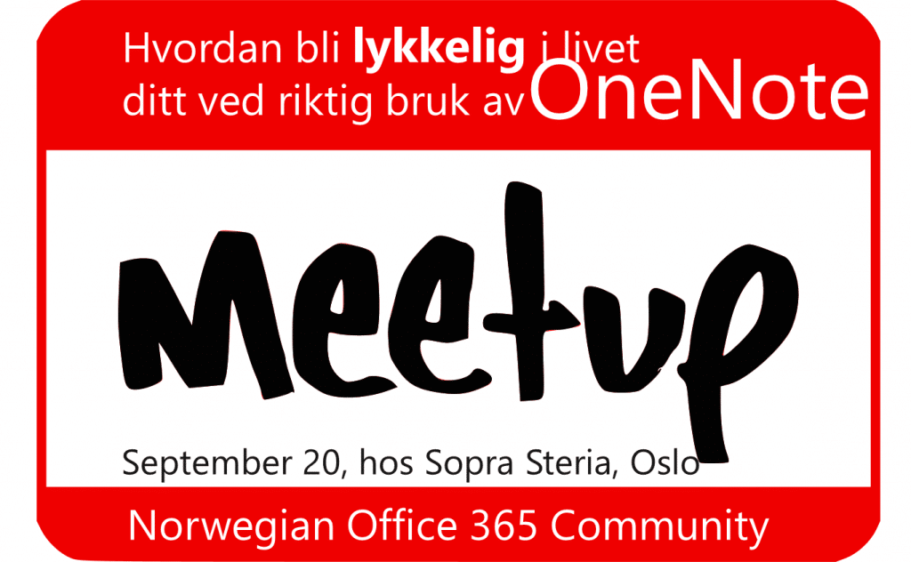 Norwegian Office 365 Community Meetup
