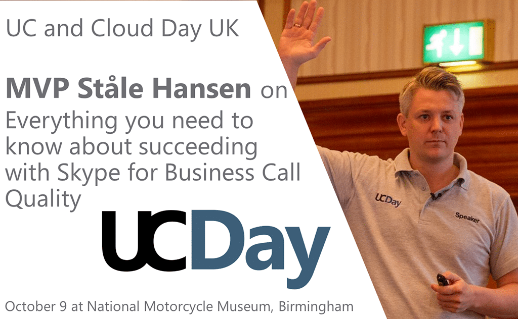 UC and CLoud Day UK