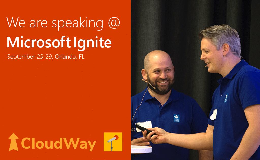 Ståle Hansen and Jan Ketil Skanke will be speaking at Microsoft Ignite