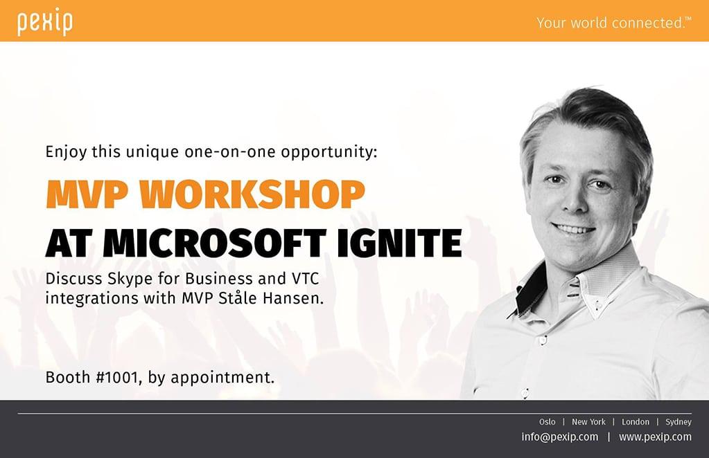 MVP Workshop at Microsoft Ignite