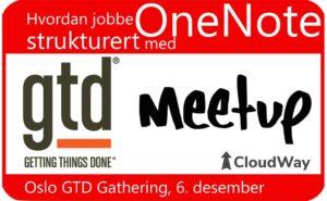 Oslo GTD gathering