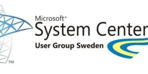 Microsft System Center user group Sweden