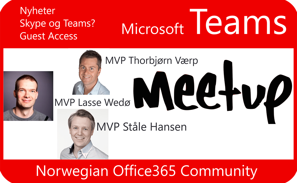 Microsoft Teams Meetup