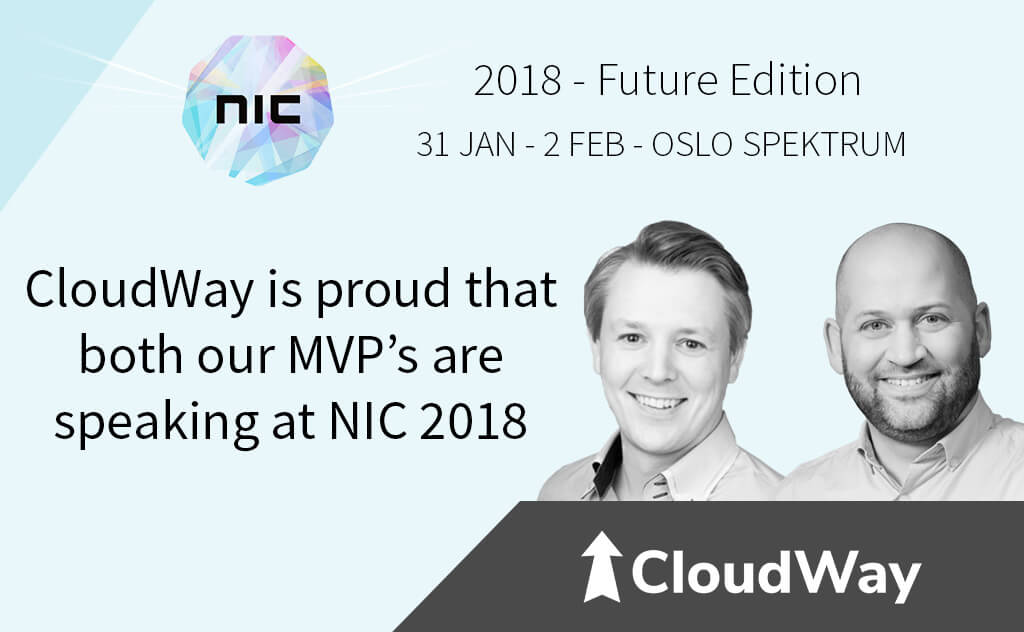 CLoudWay MVPs are speaking at NIC 2018