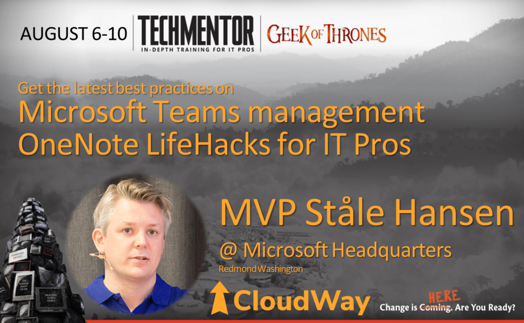 Microsoft Teams management and OneNote LifeHacks for IT Pros