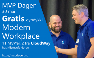 MVP Dagen Modern Workshop