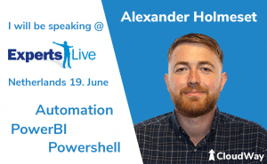 Experts Live Netherlands Alexander Holmeset