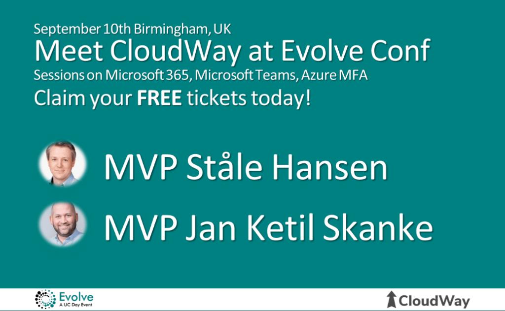 Evolve Conference information