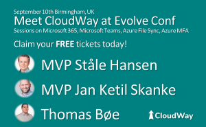 Cloudway at Evolve Conference
