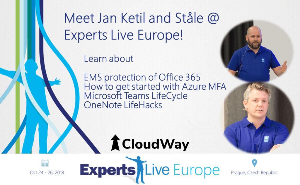 ExpertsLive Europe 2018 speakers and topics