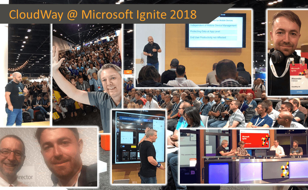 Cloudway at Microsoft ignite 2018