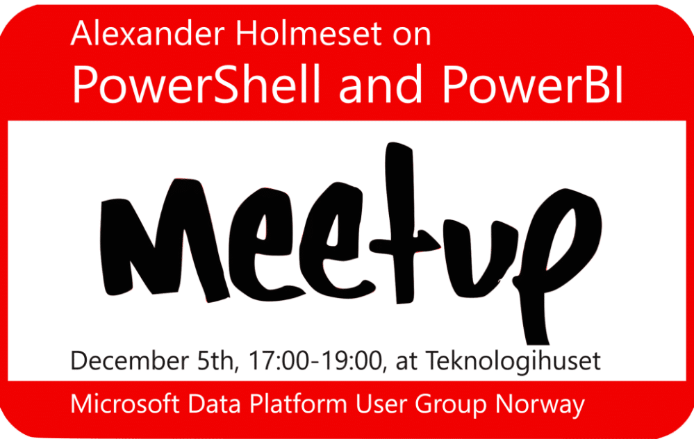 PowerShell and PowerBI