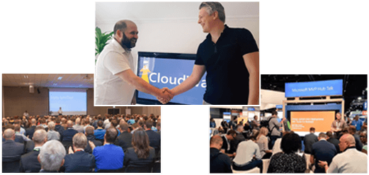 image collage of cloudway workshop