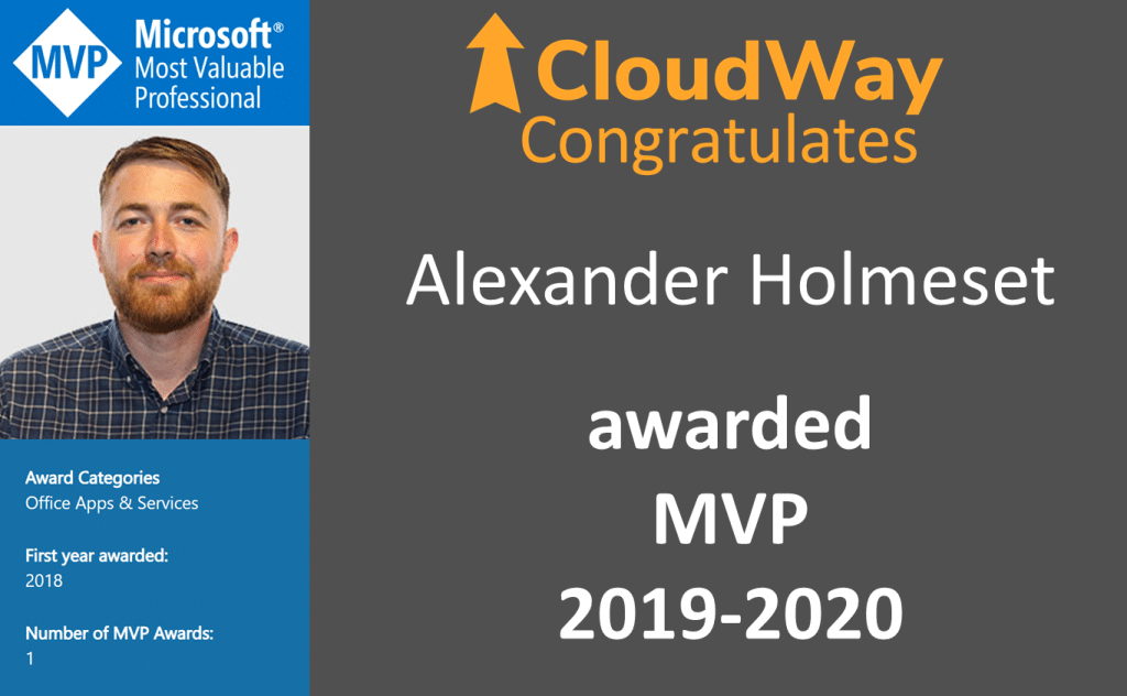 Alexander Holmeset awarded as MVP 2019-2020