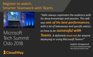 Tech Summit Oslo 2018