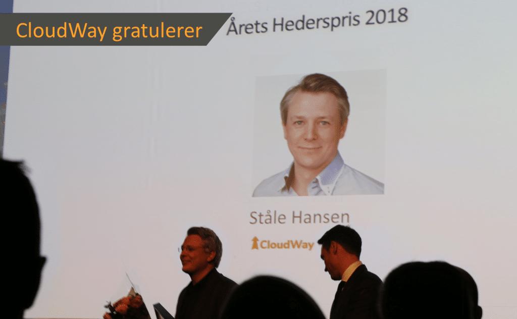 Cloudway Congratulates Stale Hansen