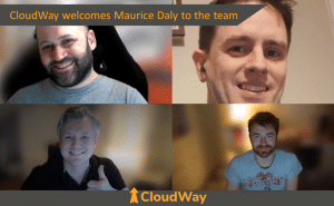 Welcomes Maurice to the team