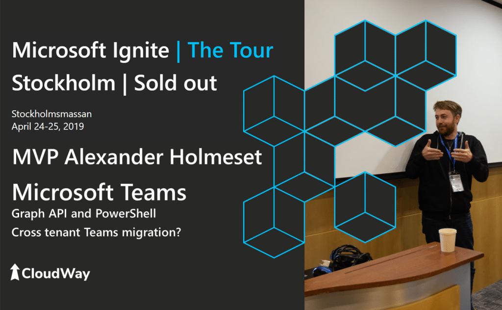 Microsoft Ignite | The Tour 2019 Stockholm