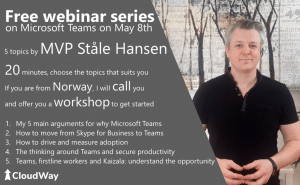 Free Webinar Series on Microsoft Teams