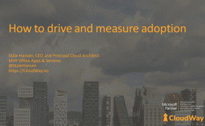 How to drive and measure adoption