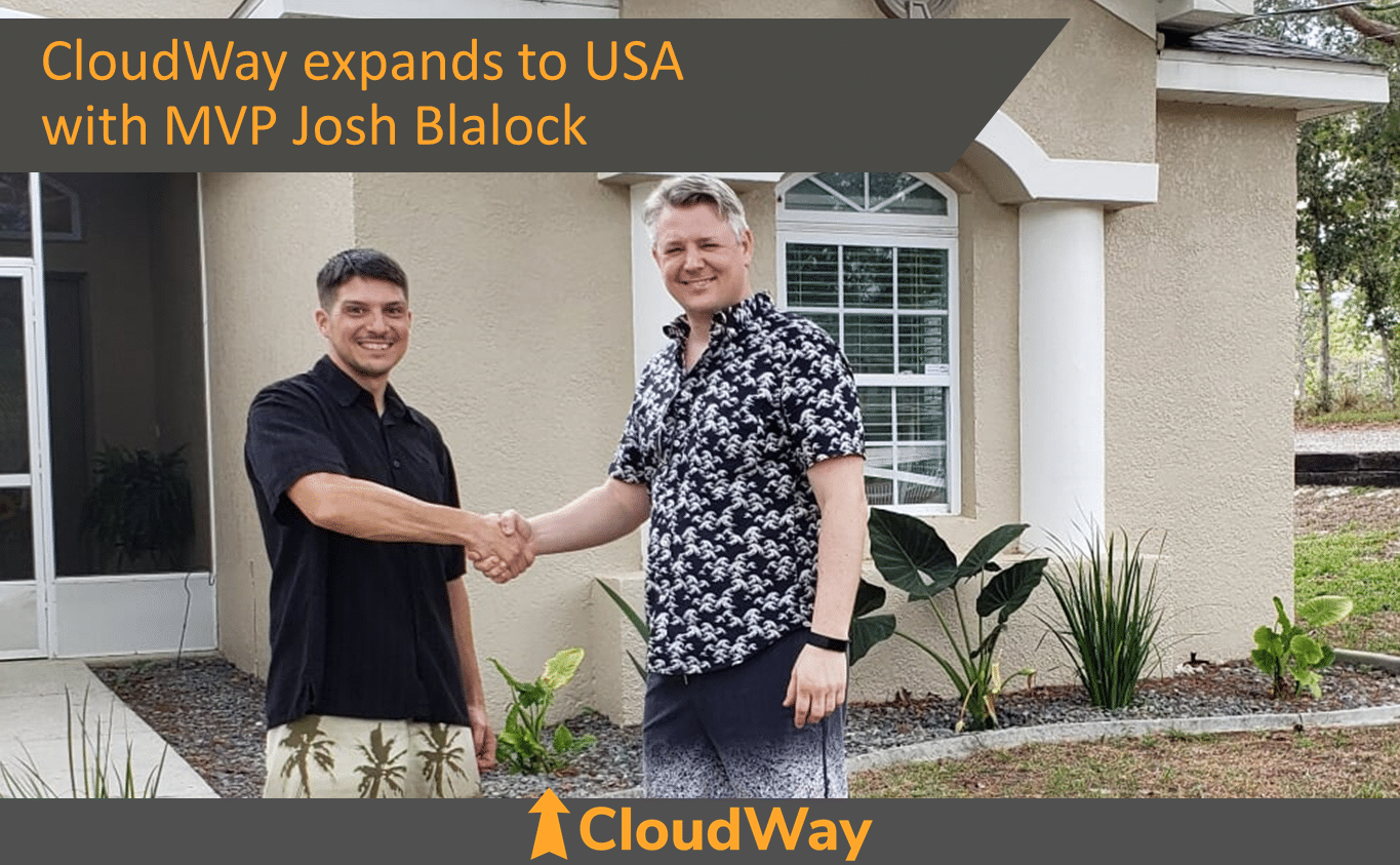 CloudWay expands to USA with MVP Josh Blalock