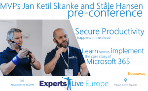 Experts Live Europe Pre-Conference