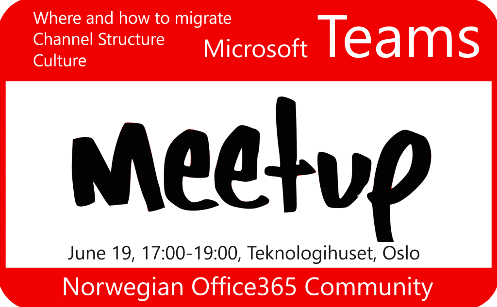 Microsoft Teams meetup