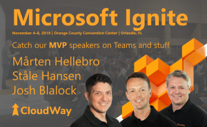 Microsoft Ignite MVP speakers