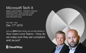 CloudWay Microsoft TechX