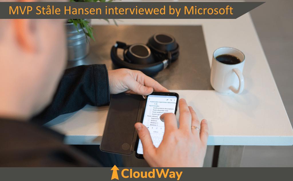 MVP Stale Hansen interviewed by Microsoft