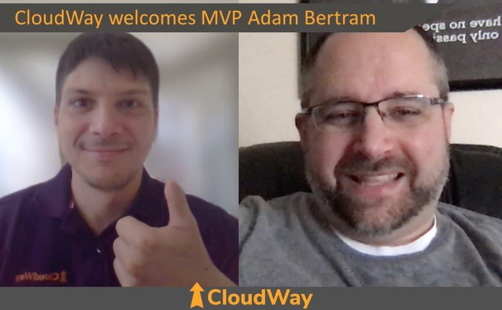 CloudWay welcomes MVP Adam Betram