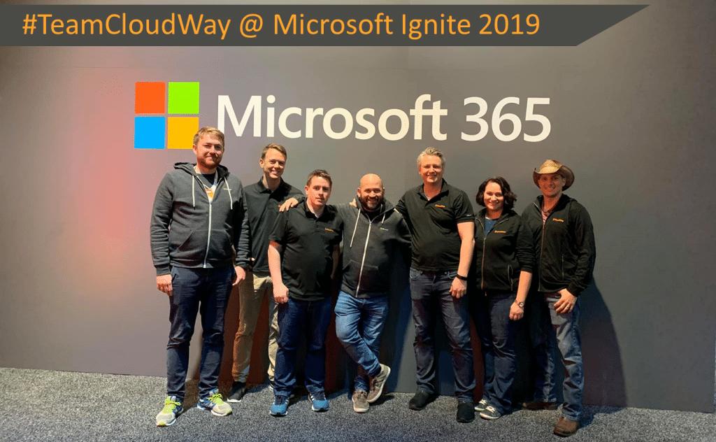 Team CLoudway @ Microsoft Ignite 2019