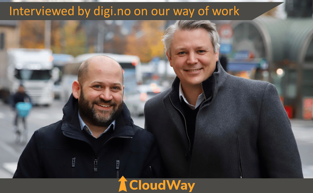 CloudWay Interviewed by digi.no