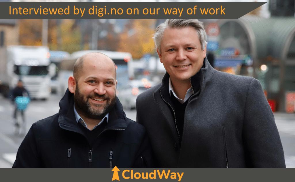 CloudWay Interviewed by digi.no