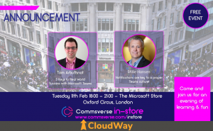 CloudWay free Event - The Microsoft Store