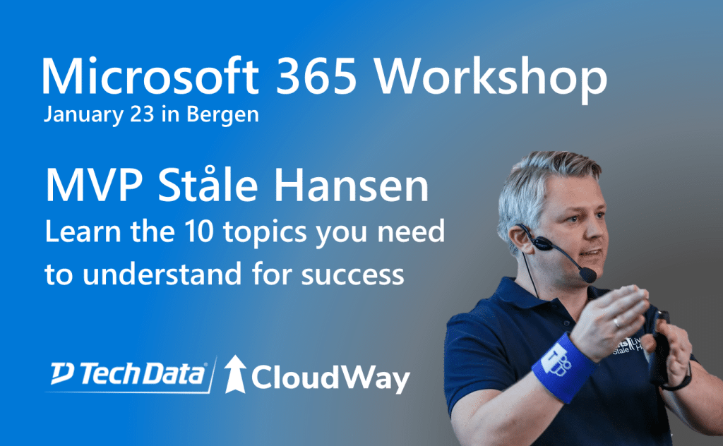 Microsoft 365 Workshop in Bergen