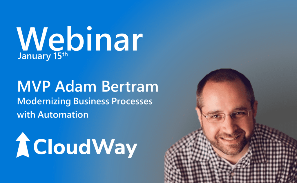 CloudWay Webinar - MVP Adam Bertram