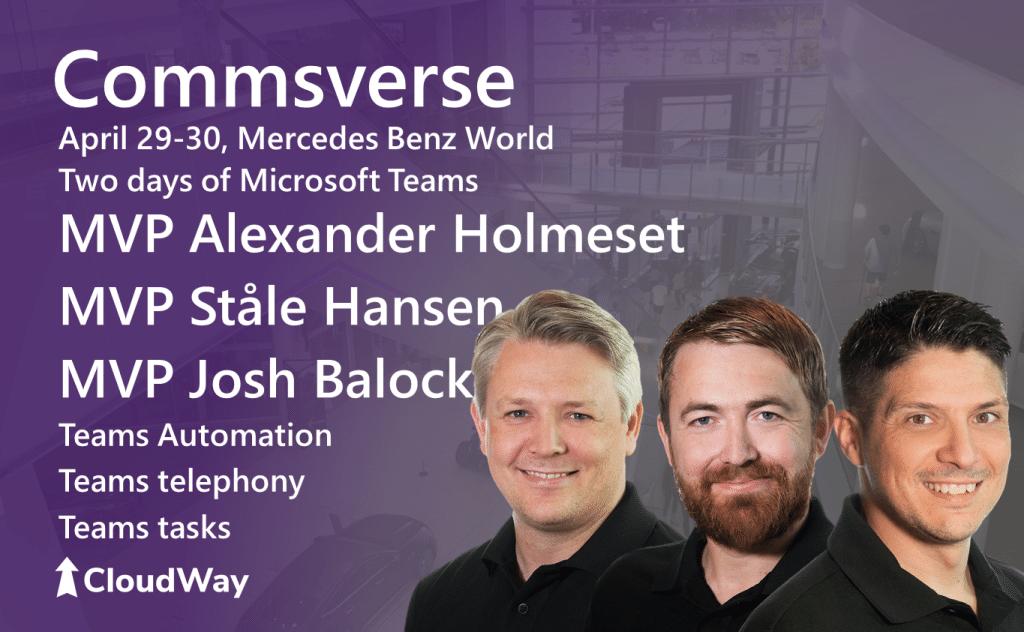 Commsverse - Cloudway