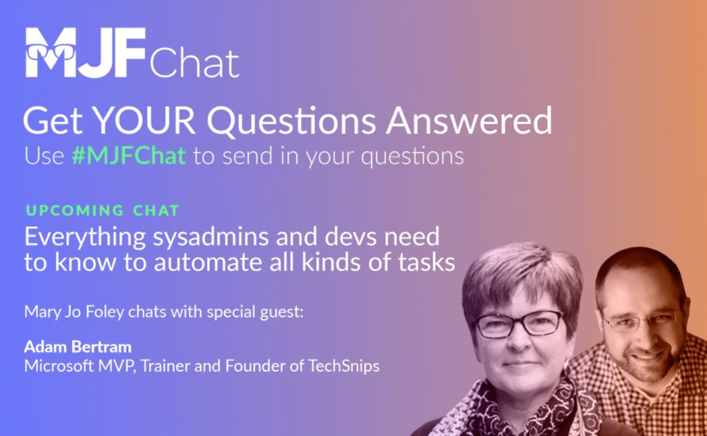 Get your question answered - MJF Chat