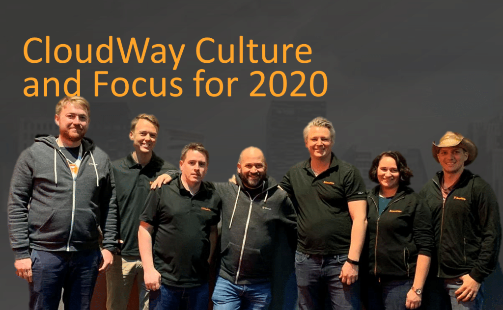 CloudWay Culture and Focus for 2020