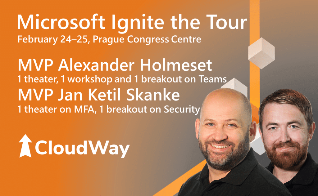 CloudWay Microsoft Ignite the Tour