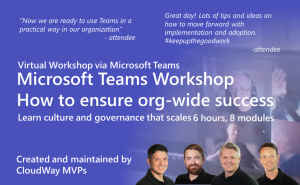 Microsoft Teams Workshop - How to ensure org-wide success