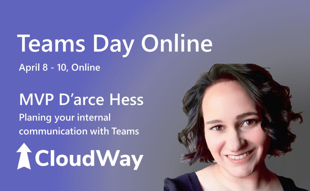Teams Day Online MVP D'arce Hess