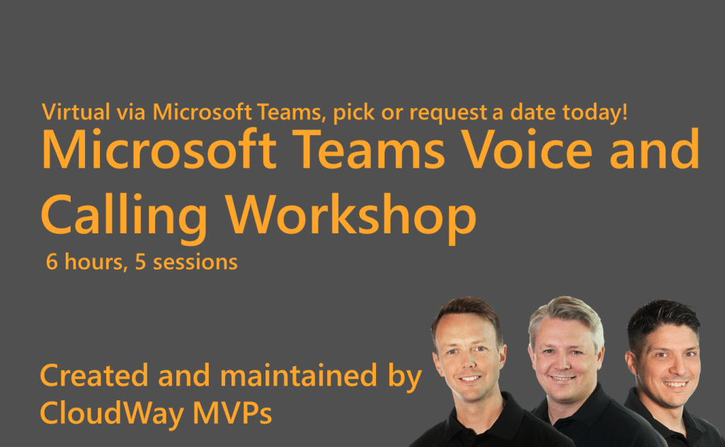 Microsoft Teams Voice and Calling Workshop