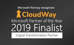 Microsoft Norway recognizes CloudWay