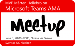 Microsoft Teams AMA Meetup