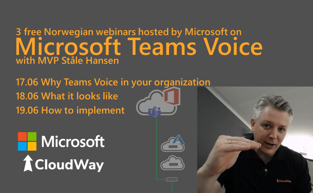 Microsoft Teams Voice with MVP Stale Hansen