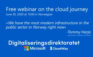 Free webinar on the cloud journey